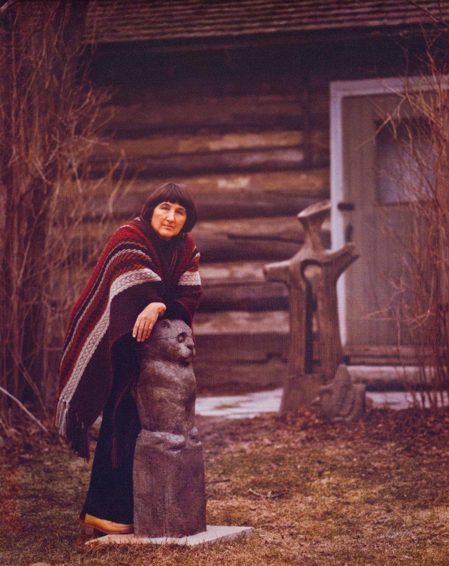 4-elizabeth-lionowl-moon-maiden-with-rain-cup-face-osterhaut-cabin-studio