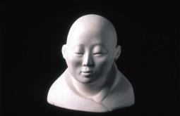 Tibetan Lama (1989) Clay 6.5x6